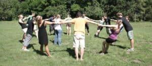 Menschen im Kreis