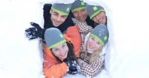 Iglu bauen & Schneeschuhwandern 02
