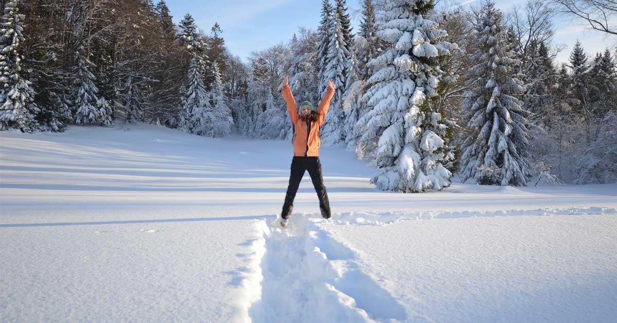 Iglu bauen & Schneeschuhwandern
