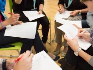 NEVEREST Trainerausbildung - Gruppenarbeit