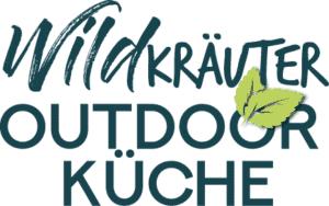Schriftzug Wildkräuter Outdoorküche