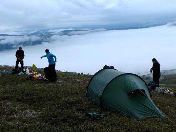Wildkräuter Outdoorküche | JF | Camping