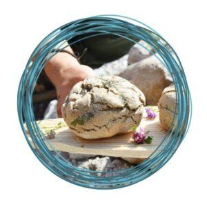 Wildkräuter Outdoorküche | Rezept Wildkräuterfladen