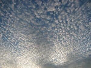 Cirrocumulus Wolken