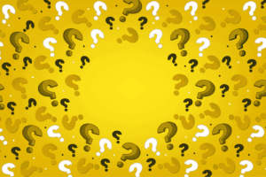 NEVEREST Quiz Hintergrund gelb
