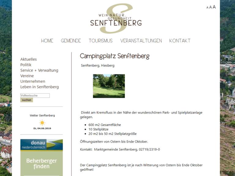 NEVEREST Nächtigungsmöglichkeit: Campingplatz Senftenberg