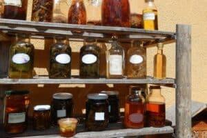 Inhaltsstoffe , Verarbeitungsarten, altes Naturhandwerk