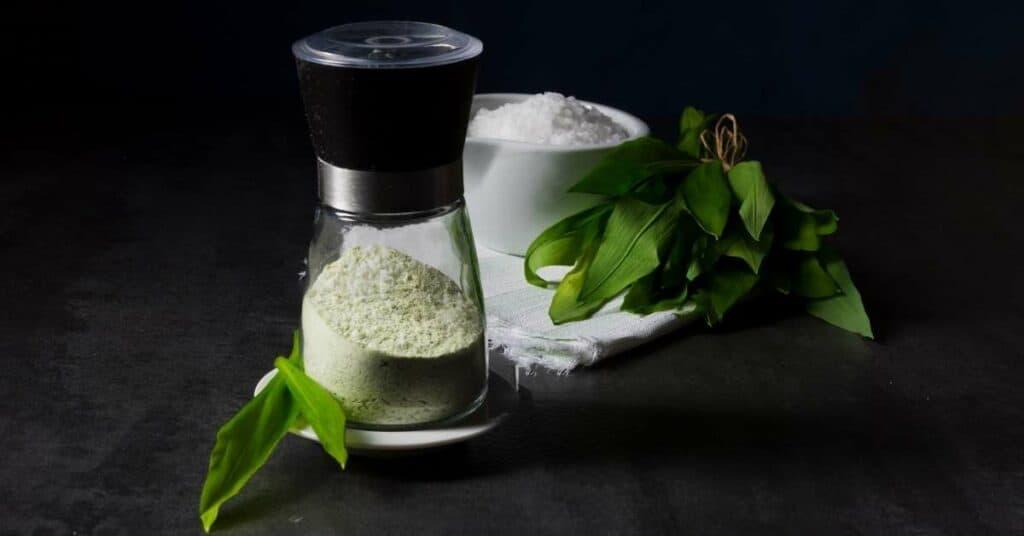 Salz-bärlauch_trocknen_würzen